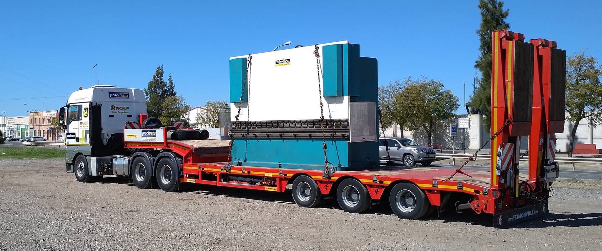heavy equipment transport Procitrans 4