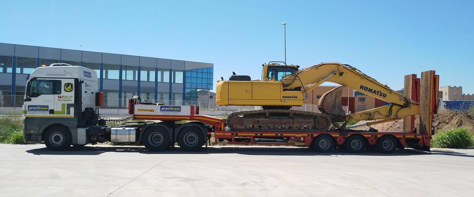 heavy equipment transport Procitrans 2
