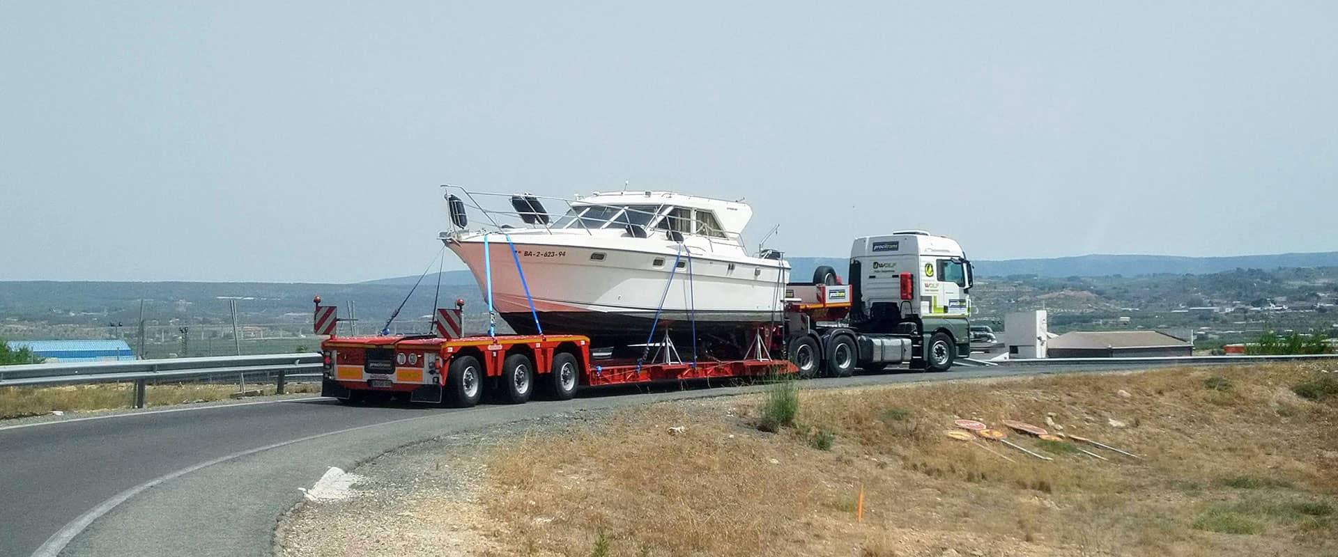 heavy equipment transport Procitrans 1